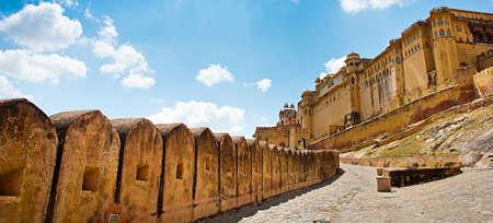 Amber Fort, Jaipur, Rajasthan, India.  Stock fotó