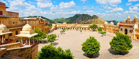 Amber Fort in Jaipur, Rajasthan, India  Фото со стока