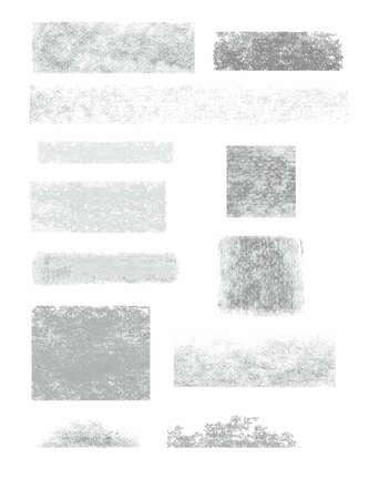 grafit: Frame, banner, graphite, pencil, white background, infographics. Traces of charcoal and graphite pencil on white paper. Vector frame for text.