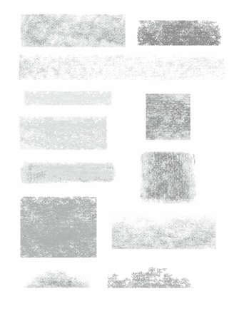grafito: Marco, bandera, grafito, lápiz, fondo blanco, la infografía. Las huellas de carbón y lápiz de grafito sobre papel blanco. Vector marco para el texto.