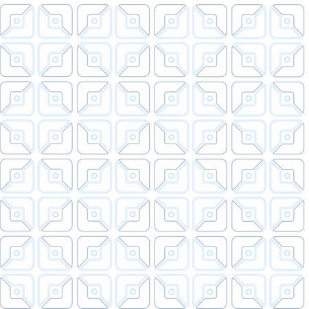 halved: Squares, half, contour drawing, pattern, geometric, seamless, white background. On a white background geometric pattern of contour gray and blue halves of squares. Seamless background. Contour drawing. For print, websites and decorating. Illustration