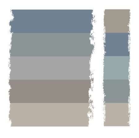 paint roller: Frame for text, grey, buttons, paint. Frames, banners, gray, color, text, and buttons. The effect of a paint roller. For infographics, websites and print.