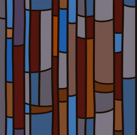 similar: Seamless background, blue stained glass. The background is similar to stained glass. Seamless, abstract, vector background.