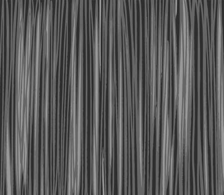 Background, strokes, simulating the texture of wood, grey, dark. Imitation wood texture, grey, vector background, color. Long strip, pencil shading.