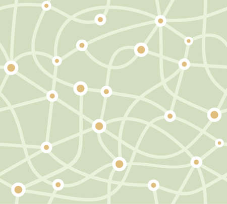 Map, scheme, seamless background, green, vector. The metro map. A network of roads and settlements. Vector picture. Gray-green flat background.