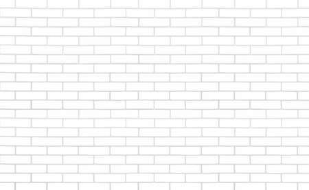 Brickwork texture with color and sepia bricks. Brick Wall background. Vector illustration.