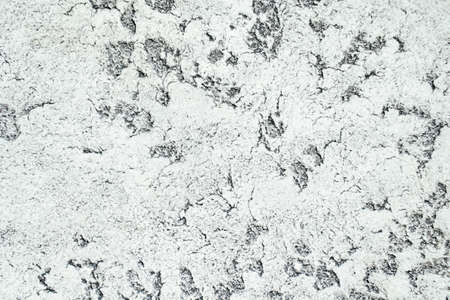 Concrete rough background. Street ceramic product. Ground stone table. Dirty rustic backdrop. Facade grunge rock. Graphic wave template. Urban smooth wallpaper. Ancient material
