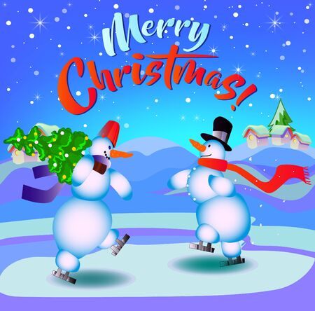 メリークリスマス英語 ロゴ