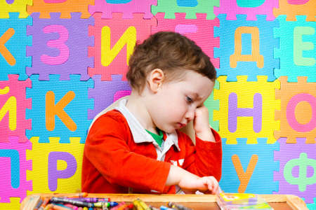 The child refuses to do drawing lessons. The early development of children of preschool age