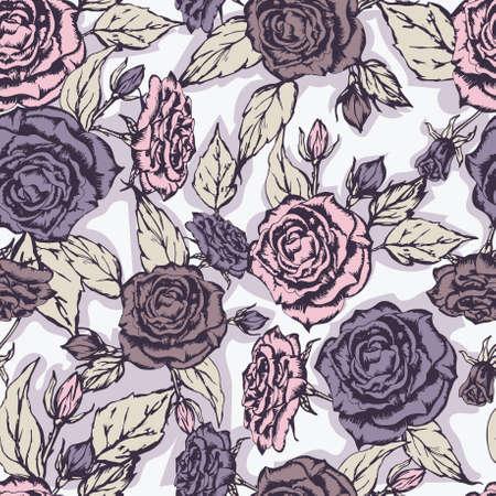 Nahtlose Blumenmuster. Blumen Textur.