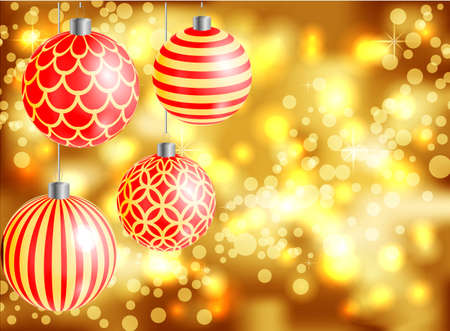 xmas background: Cards New year 2016, Xmas, blurred background