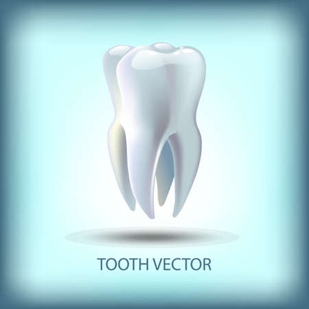 carious cavity: image tooth  3D illustration for dentistry Illustration