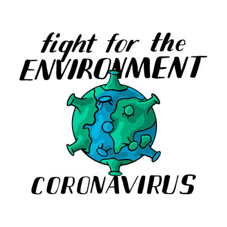 coronovirus, because of the disease, the ecology of the planet earth has improved