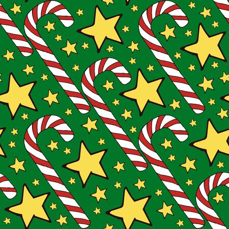 Colorful vector caramel cane pattern on background. Spiral collection. Vector isolated spiral icon. Geometric striped graphic background. Christmas holiday. Sweet cream Banque d'images - 131000240