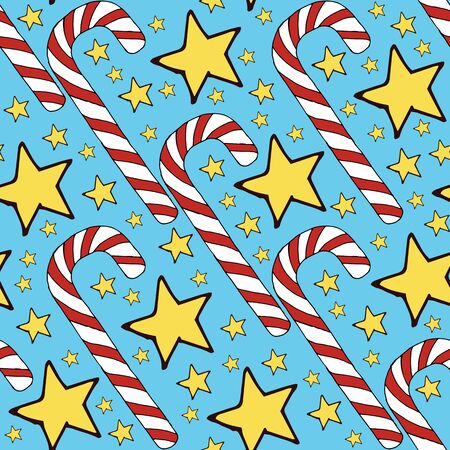 Colorful vector caramel cane pattern on background. Spiral collection. Vector isolated spiral icon. Geometric striped graphic background. Christmas holiday. Sweet cream Banque d'images - 131056537