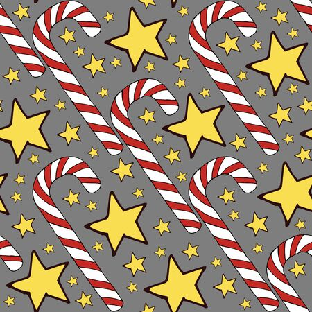 Colorful vector caramel cane pattern on background. Spiral collection. Vector isolated spiral icon. Geometric striped graphic background. Christmas holiday. Sweet cream. Stockfoto - 133450115