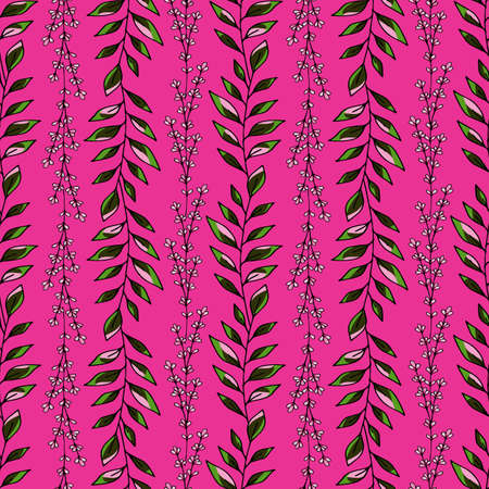 Design element. Floral seamless vector pattern. Vector seamless texture. Textile design. Vintage vector ornament pattern. Creative abstract background. Colored background. Illustration