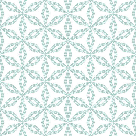 Abstract pattern. Seamless vector background. Blue and white ornament. Illustration