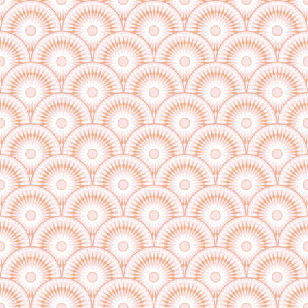 Abstract geometric pattern. Seamless vector background. Pink and white ornament.