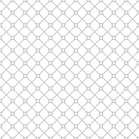 Abstract geometric pattern with squares, rhombuses. A seamless vector background. Grey and white graphic pattern. Illustration