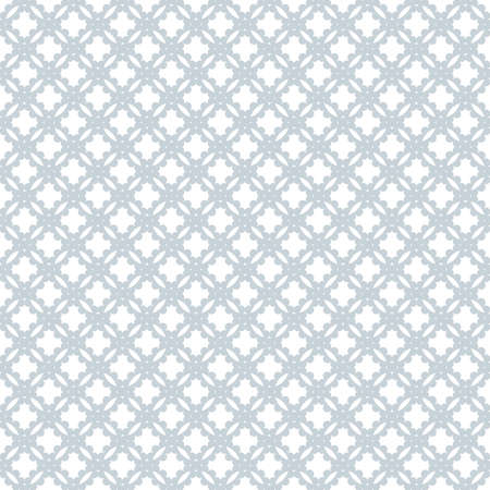 Abstract pattern. Seamless vector background. Graphic blue and white pattern.