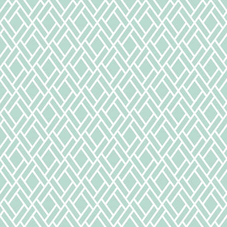 Abstract geometric pattern with squares, lines. A seamless vector background. Blue  and white graphic pattern