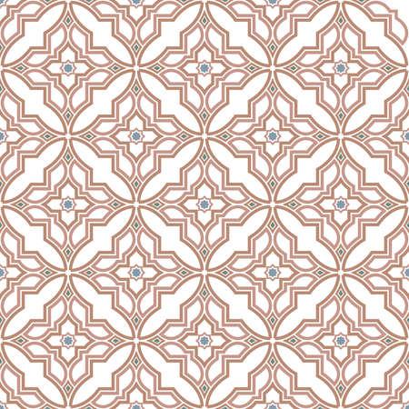 アラビア語のスタイルの抽象的なパターン。シームレスなベクトルの背景。.グラフィックモダンパターン