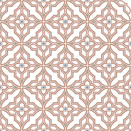 Abstract patroon in Arabische stijl. Naadloze vector achtergrond. . Grafisch modern patroon