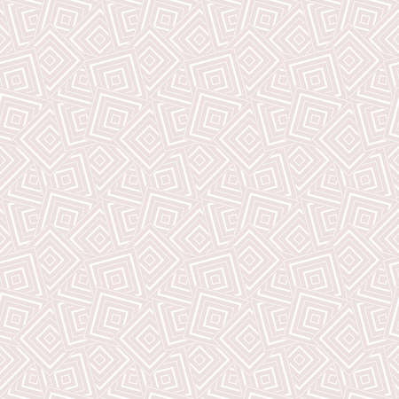 Abstract geometric pattern with rhombuses. A seamless vector background. White and pink texture. Graphic modern pattern Illustration
