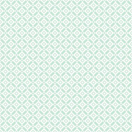 Abstraktes geometrisches Muster mit Linien nahtloser Vektorhintergrund. Grafisches modernes Muster der weißen und grünen Verzierung.