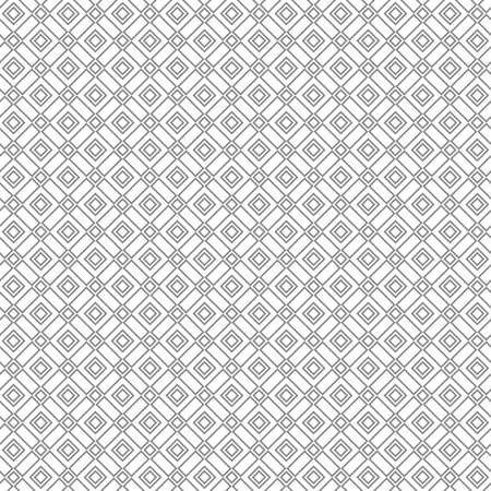 Abstract geometric pattern with lines. A seamless vector background. White and black ornament. Graphic modern pattern.