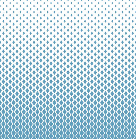 Abstract geometric pattern. Vector background. White and blue ornament. Graphic modern pattern Ilustração