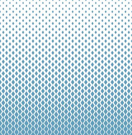 Abstraktes geometrisches Muster . Vektorhintergrund . Weiße und blaue Verzierung . Grafisches modernes Muster