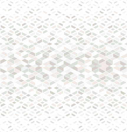 Abstract geometric pattern. A seamless vector background. White and color ornament graphic modern pattern. Ilustração