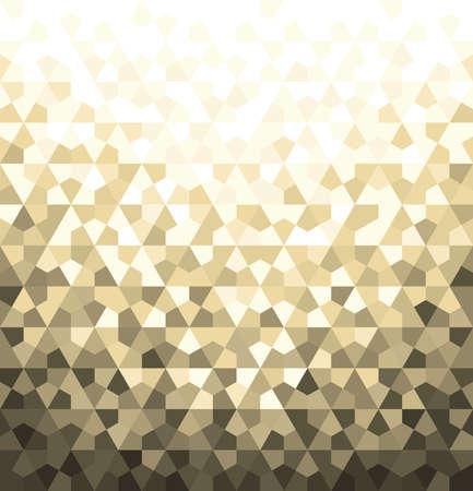 Abstraktes geometrisches Mustervektorhintergrund. Weiß- und Goldverzierung, grafisches modernes Muster. Standard-Bild - 96546189