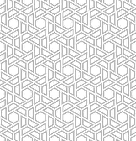 The geometric pattern with lines. White and grey texture. Graphic modern pattern.