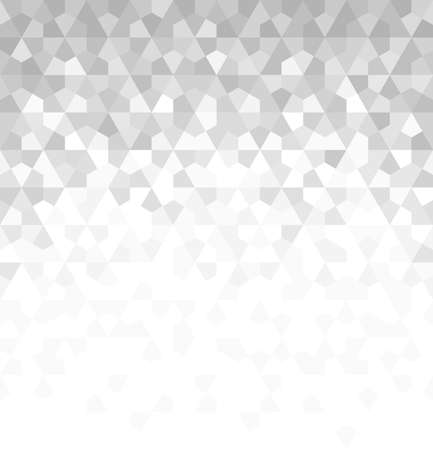 Abstract geometric pattern with rhombuses. Vector background. White and grey ornament. Graphic modern pattern.