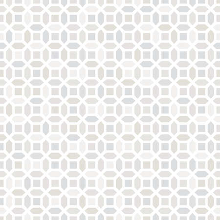 Abstract geometric pattern with lines. A seamless vector background. White and grey ornament. Graphic modern pattern.