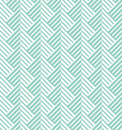Abstract geometric pattern with stripes, lines. A seamless vector background. White and green ornament