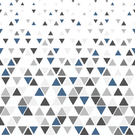 Abstract geometric pattern. Vector background. Black and gray ornament. Graphic modern pattern Illustration