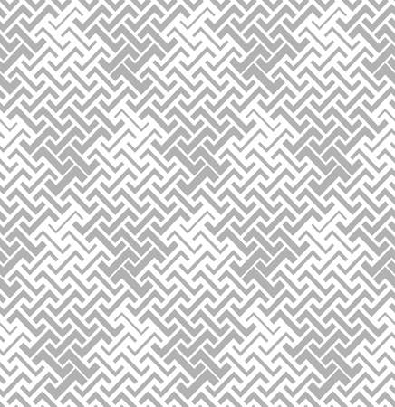 Abstract geometric pattern with stripes, lines. A seamless vector background. White and grey ornament.