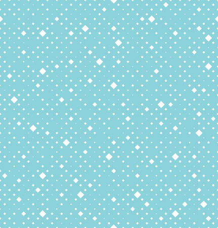 Abstract geometric pattern. A seamless vector background. White and blue ornament. Graphic modern pattern Illusztráció