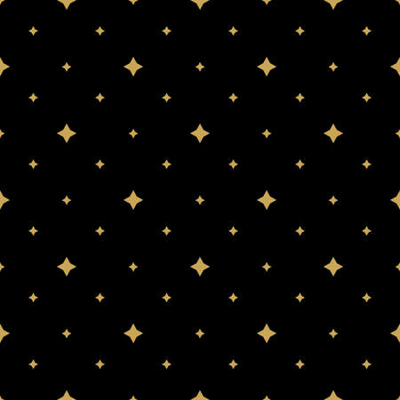 Abstract geometric pattern. A seamless vector background. Black and gold ornament. Graphic modern pattern. 向量圖像