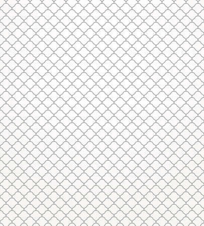 Abstract geometric pattern. Seamless vector background. Gray and white texture.