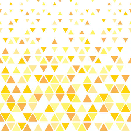 Abstract geometric pattern vector background. White and yellow ornament graphic modern pattern. Illustration