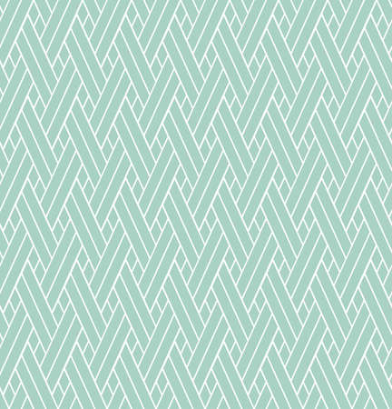Abstract geometric pattern with stripes, lines. A seamless vector background, white and blue ornament. Illustration