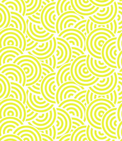 Abstract geometric pattern. A seamless vector background. White and yellow ornament. Graphic modern pattern