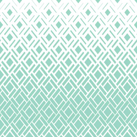 Abstract geometric pattern. Vector background. White and green halftone. Graphic modern pattern. Simple lattice graphic design