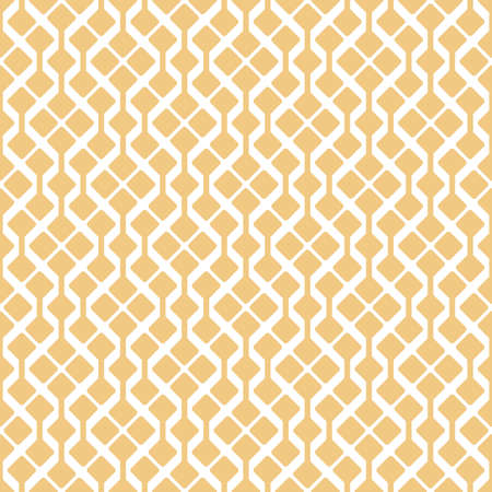 Abstract geometric pattern, seamless vector background. White and gold ornament graphic modern pattern. Simple lattice graphic design.