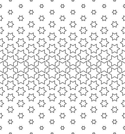 Abstract geometric pattern. Vector seamless background. White and black halftone. Graphic modern pattern. Simple lattice graphic design